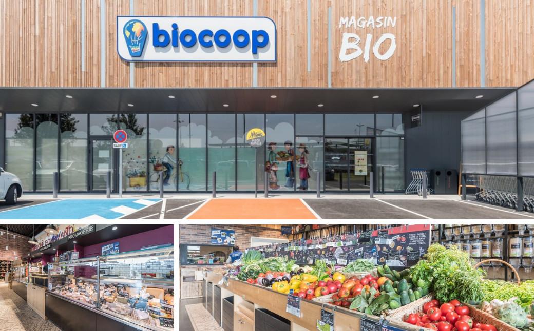 Local du magasin Biocoop l'Eveil à Saint-Paul-lès-Dax - Enercoop Nouvelle-Aquitaine