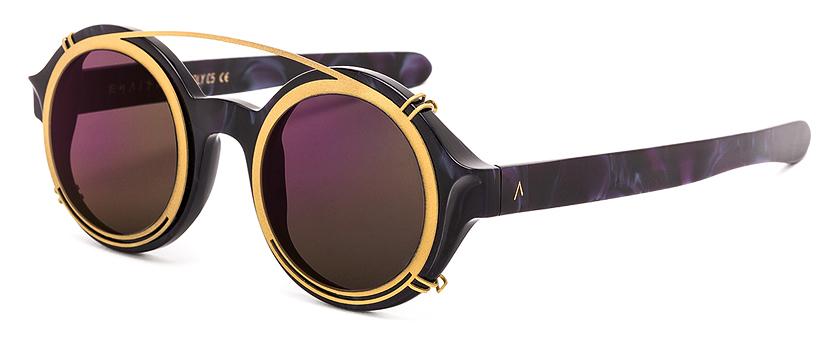 Molly C5 Gold Clip-on Purple