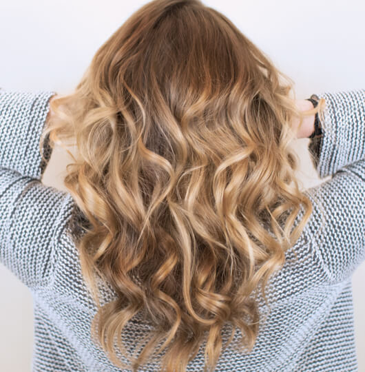 Toffee hair color