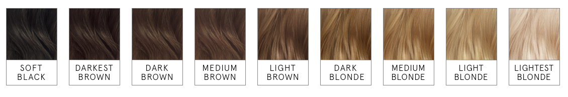 home hair color shades