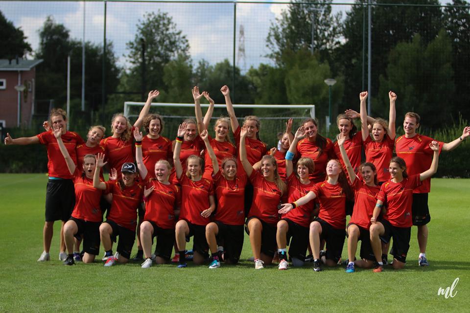 German Ultimate National Team U20w EYUC 2017
