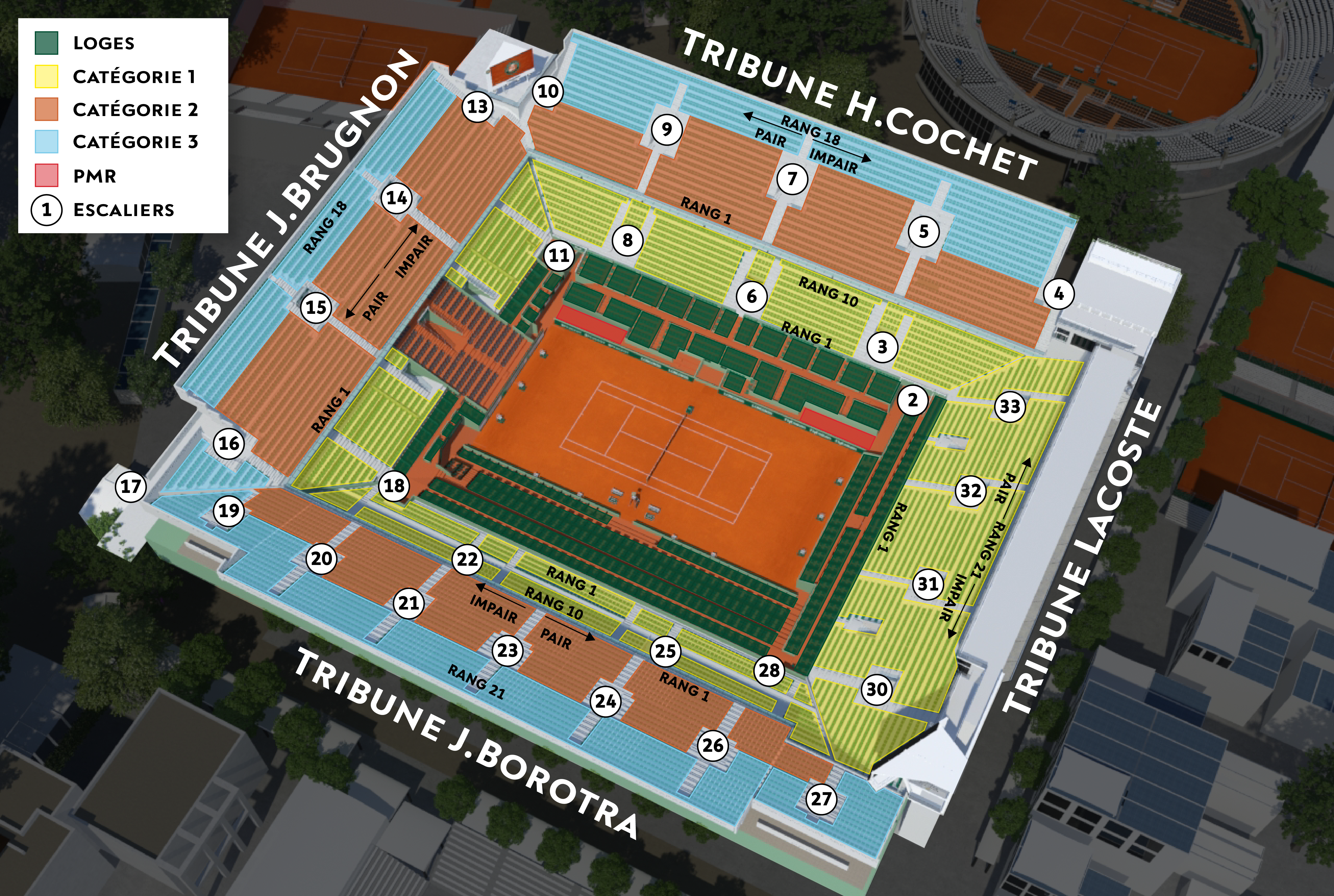 Roland Garros Location In Paris Map.How To Buy French Open Tickets Tennis Buzz