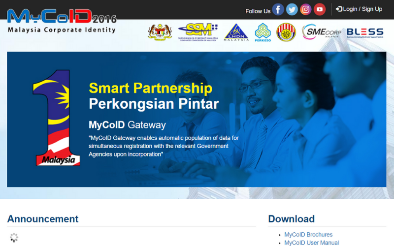 MyCoID portal