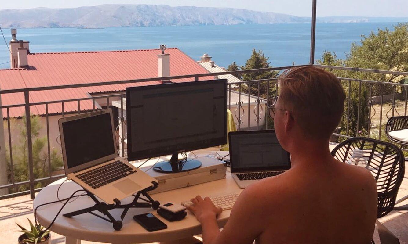 werken op afstand digital nomad