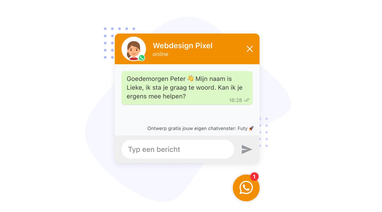 whatsapp widget gratis agency