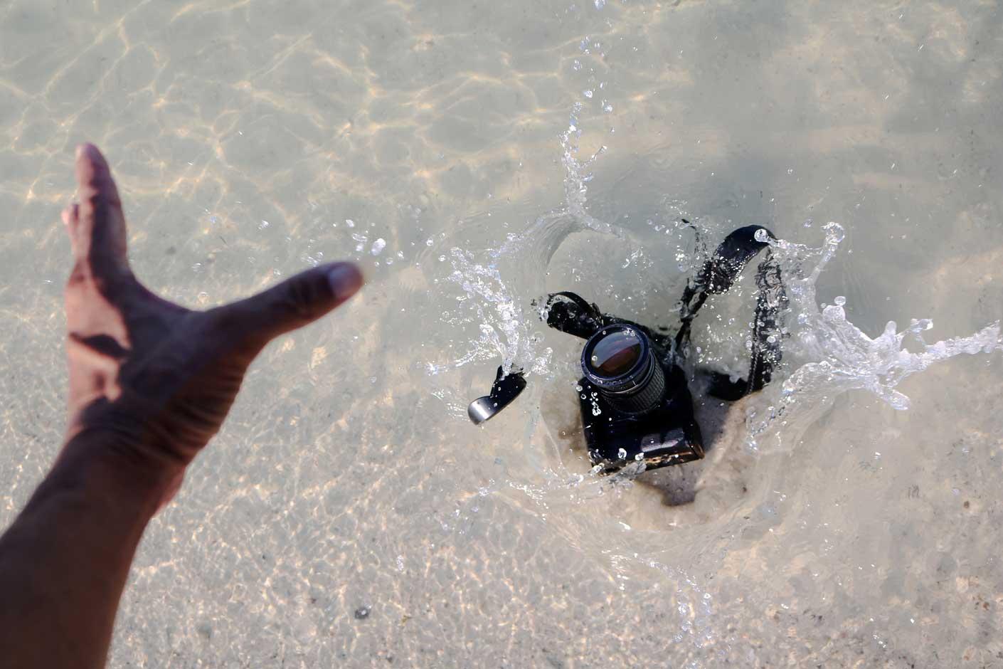 Kameraversicherung Wasserschaden