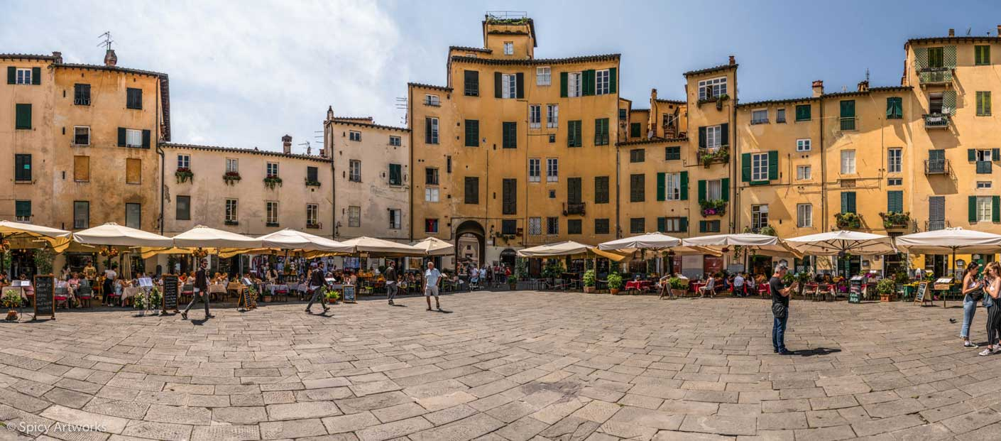 Luca in der Toskana