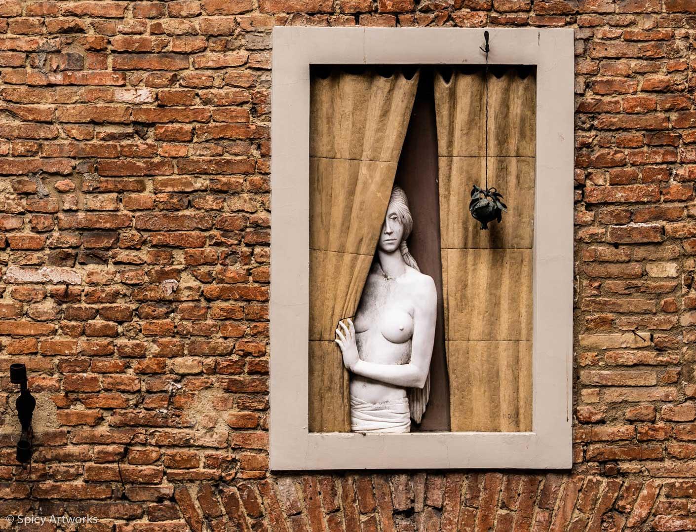 Toskana - Kunst in der Stadt