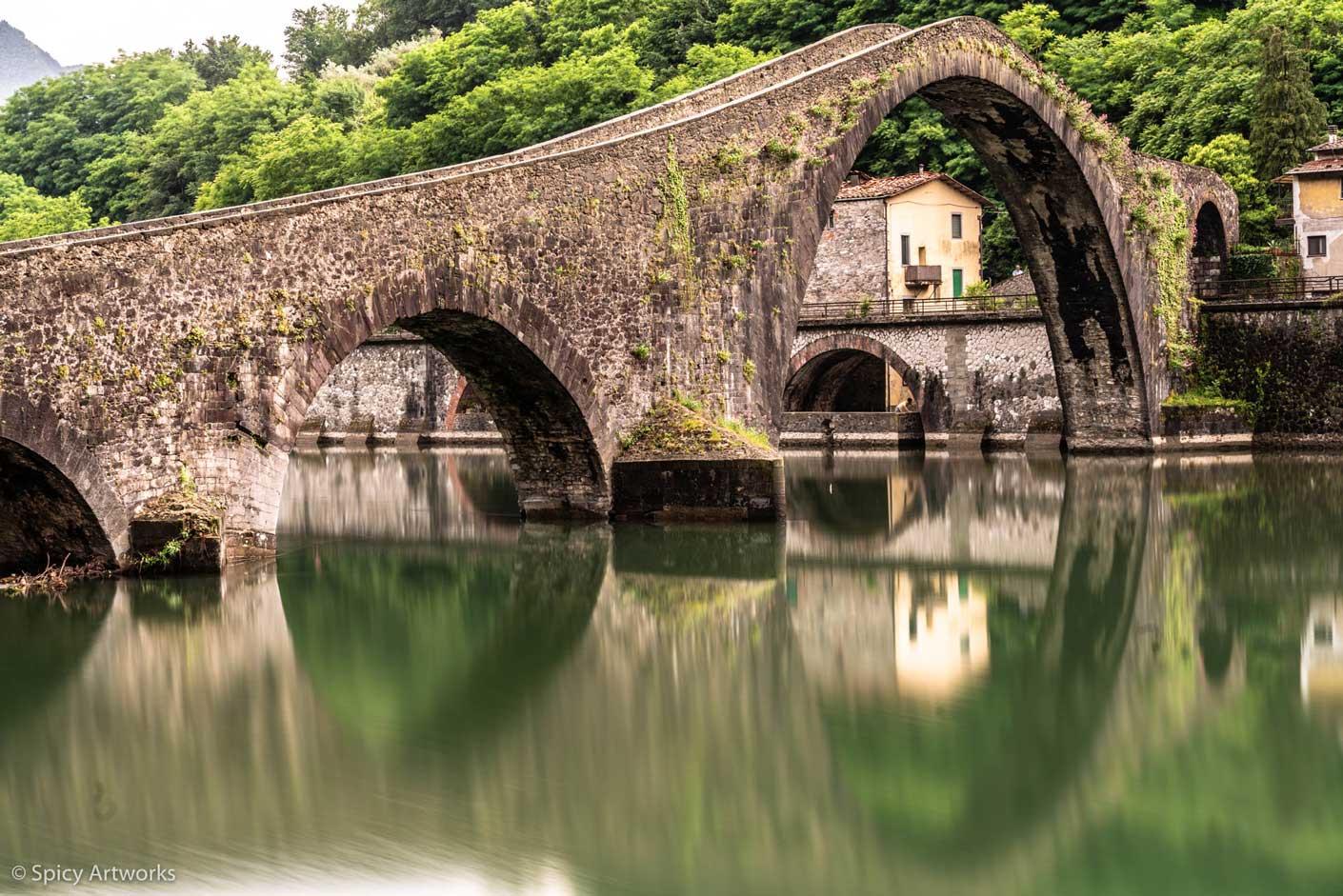 Teufelsbrücke Toskana