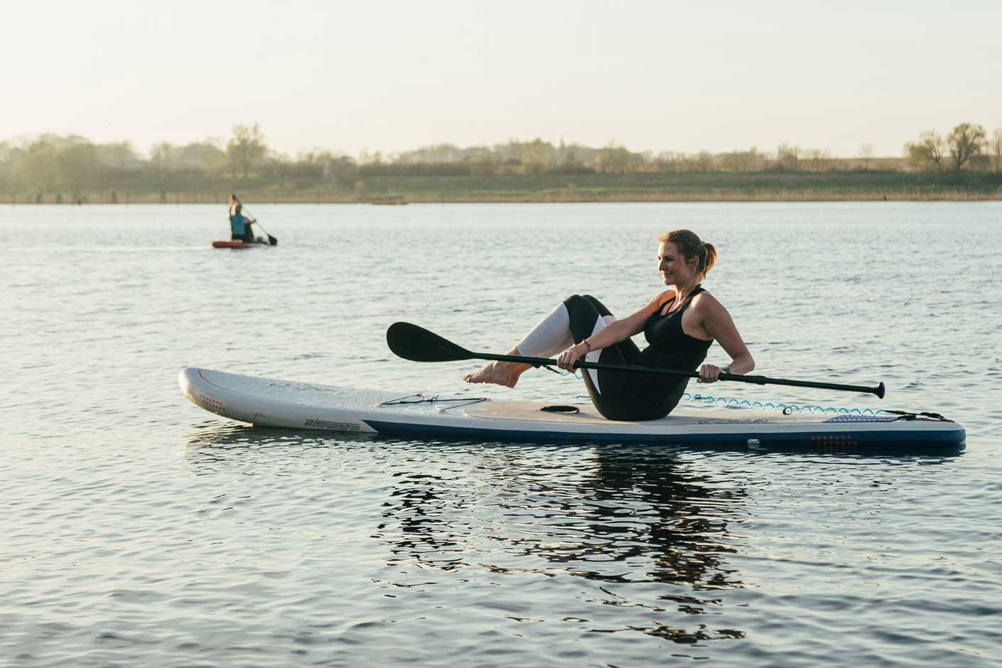 SUP Fitness Workout: Russian Twist
