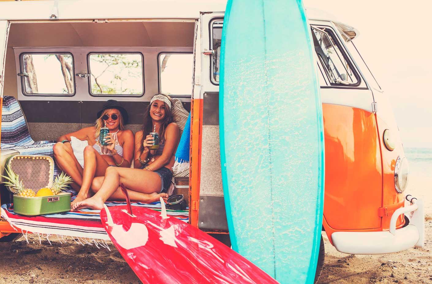 Surfboard pflegen
