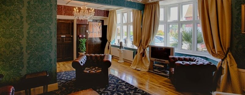 The Gable End Hotel interiors