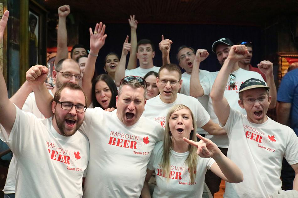 Calgary Beer Pong Team
