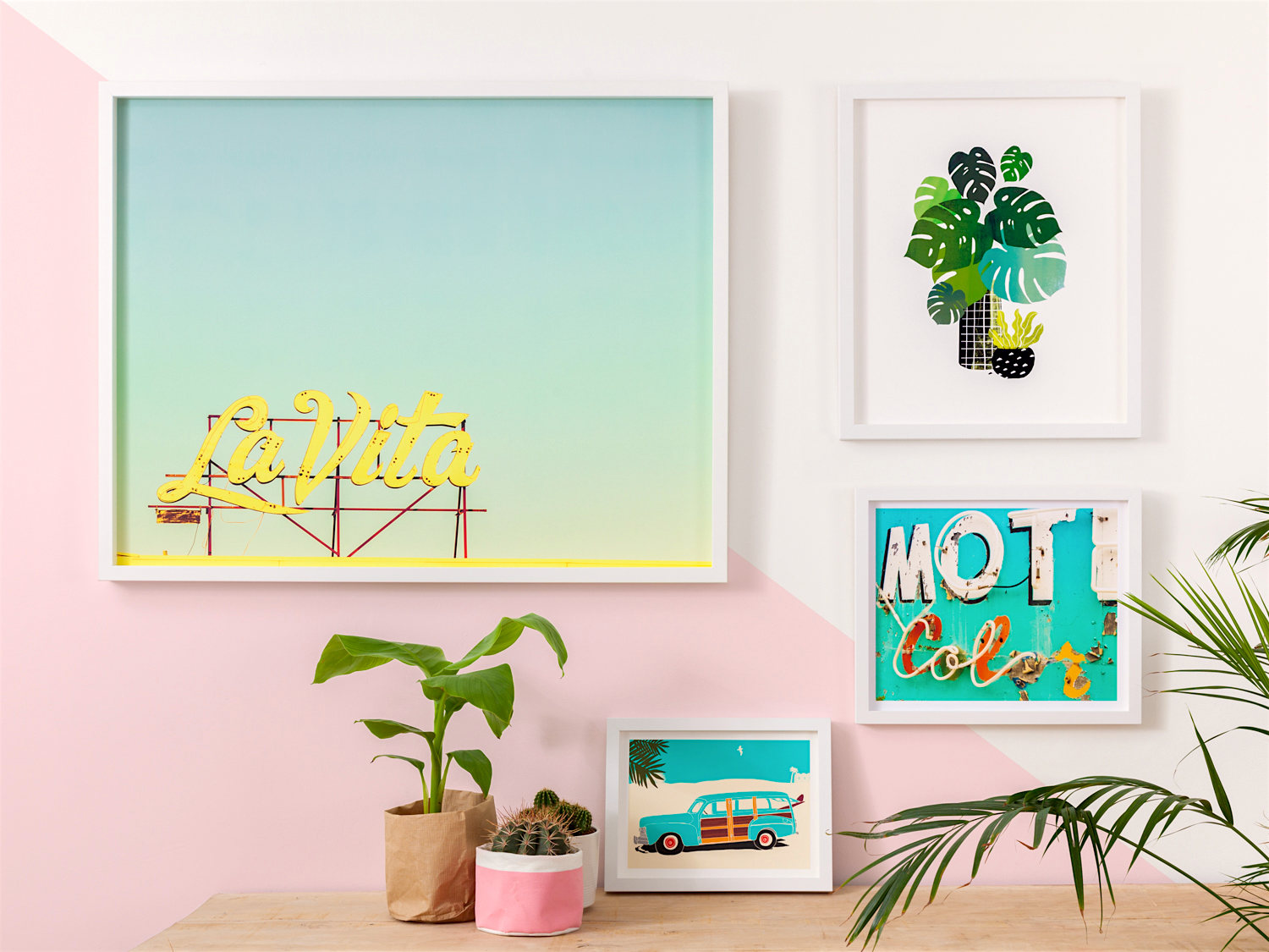 How To Make A Palm Springs Gallery Wall King Amp Mcgaw