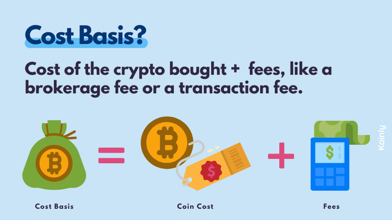 Koinly explains crypto tax cost basis