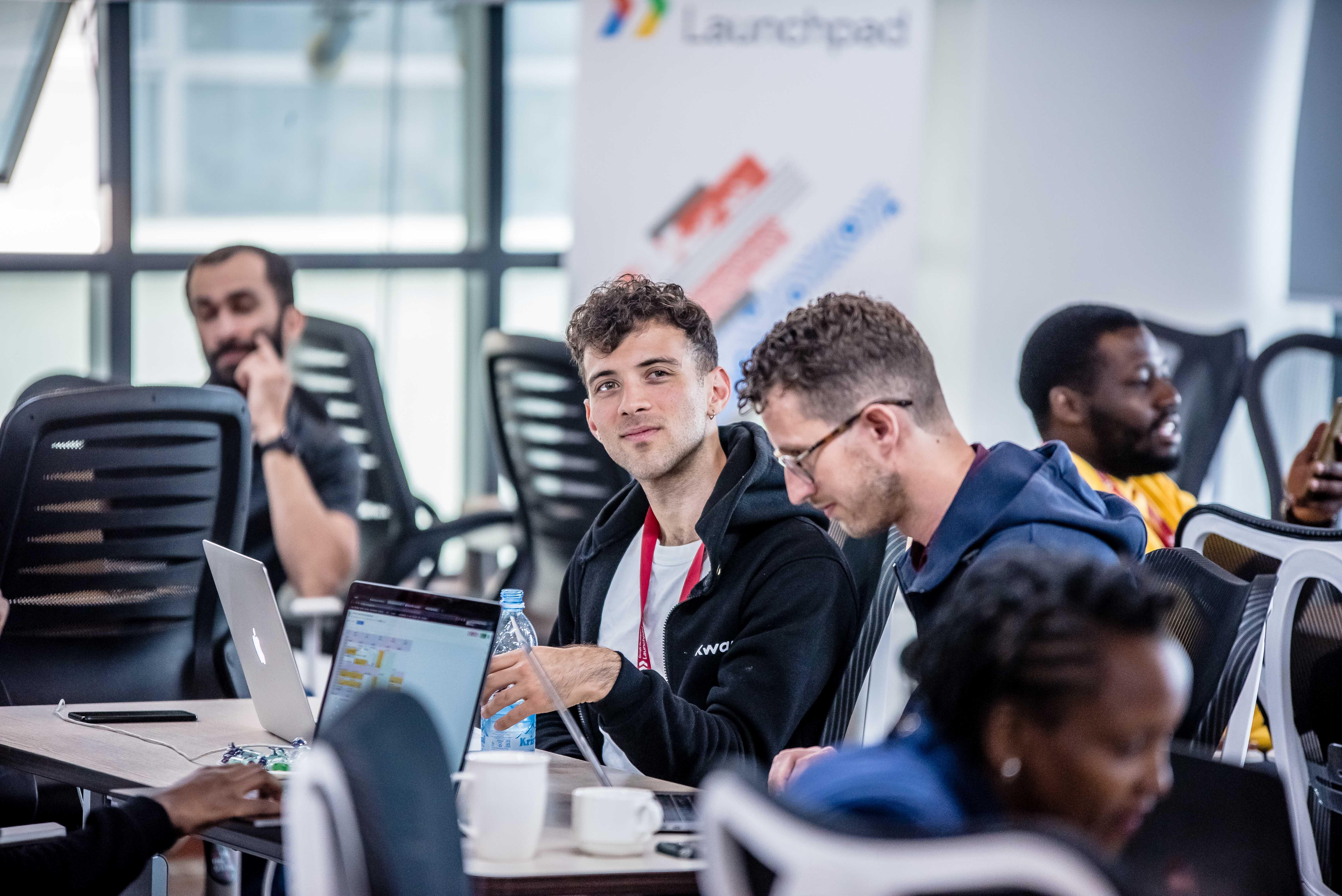 Anthony Ioimo Software Engineer Kwara Google Launchpad Africa