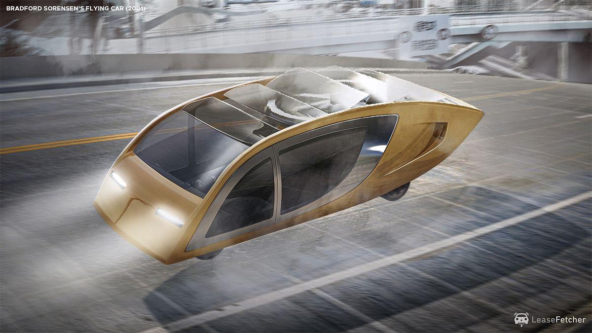 Bradford Sorensen's flying car - 2001