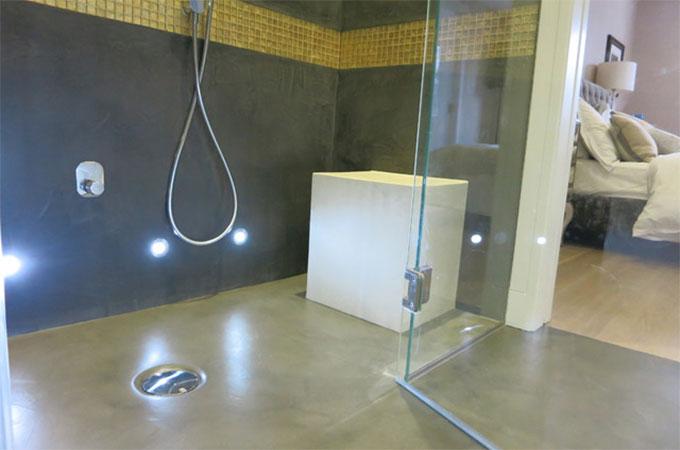 bien choisir votre douche en b ton. Black Bedroom Furniture Sets. Home Design Ideas