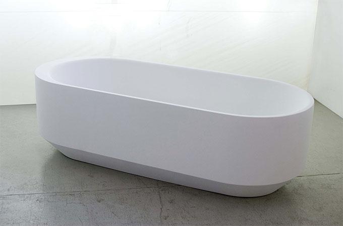 comment installer une baignoire ronde ou ovale. Black Bedroom Furniture Sets. Home Design Ideas