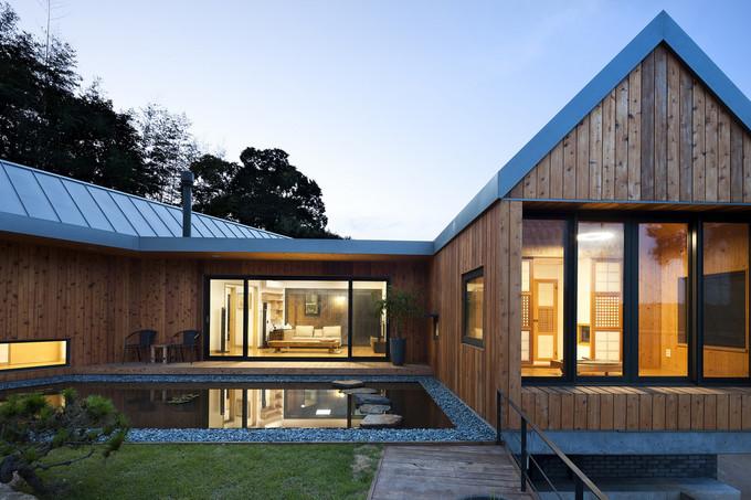 maison en bois qui se deplace