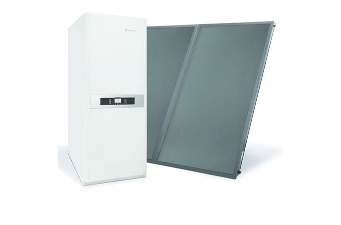 chaudi re mixte gaz et solaire la rencontre des nergies. Black Bedroom Furniture Sets. Home Design Ideas