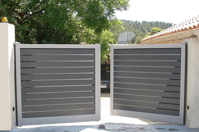 quel budget pour un portail en aluminium. Black Bedroom Furniture Sets. Home Design Ideas