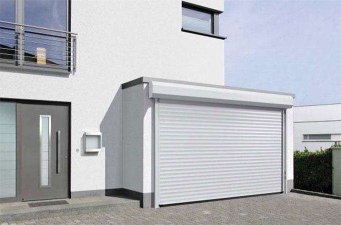 tout connaitre sur les avantages et les caract ristiques de la porte de garage enroulable. Black Bedroom Furniture Sets. Home Design Ideas