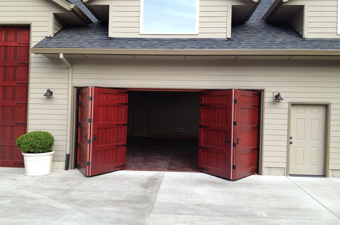 portes de garage pliantes quels avantages. Black Bedroom Furniture Sets. Home Design Ideas