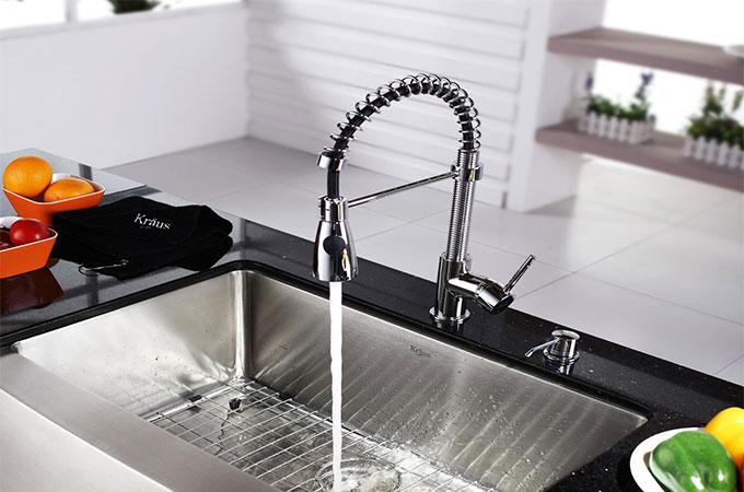 tout savoir du prix d un robinet de cuisine mitigeur avec douchette. Black Bedroom Furniture Sets. Home Design Ideas