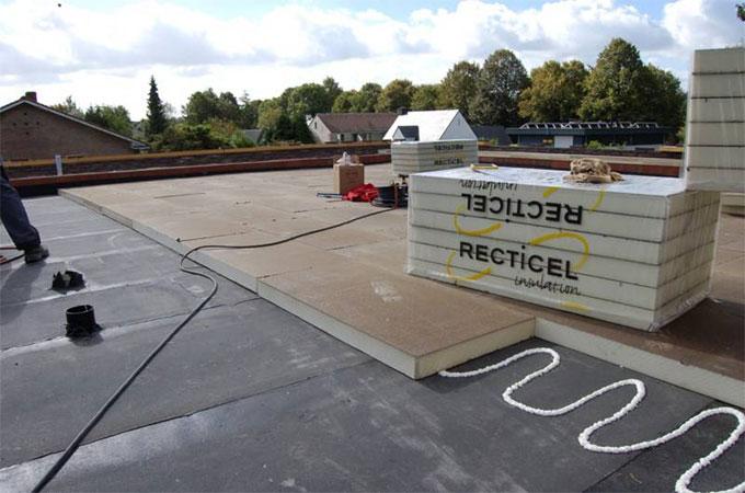 L isolation d un toit terrasse for Isolation d un toit