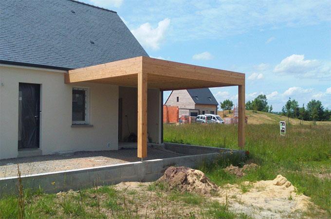 garage en bois les diff rentes sortes. Black Bedroom Furniture Sets. Home Design Ideas