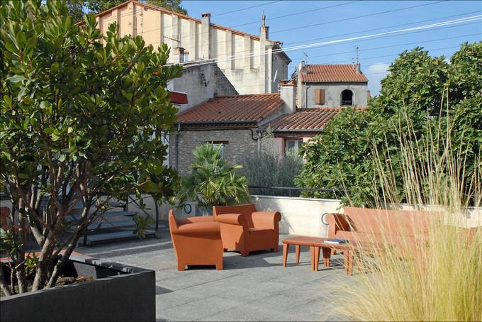 faire construire une terrasse. Black Bedroom Furniture Sets. Home Design Ideas