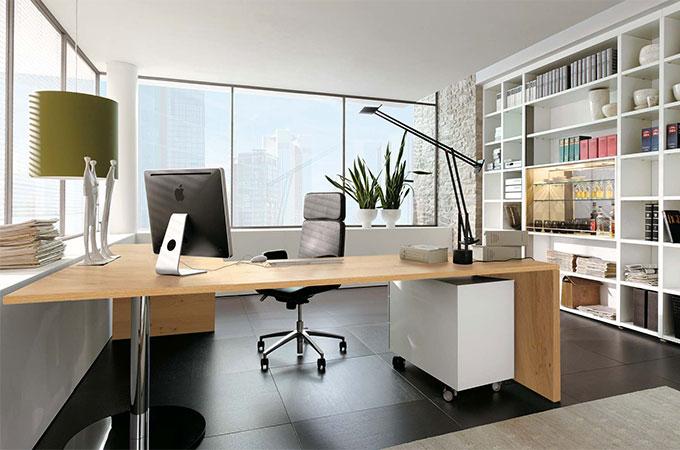 Bureau la maison quel mobilier for Mobilier bureau maison
