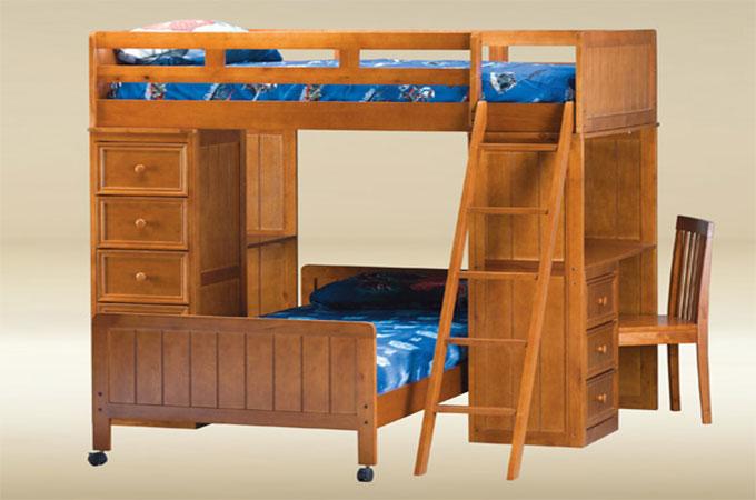 Lit mezzanine en bois l 39 essentiel savoir for Mezzanine bois en kit