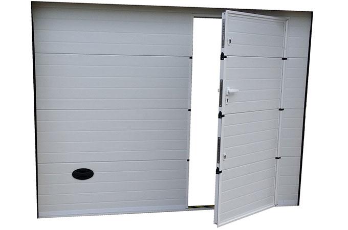 tout connaitre sur les avantages et les caract ristiques de la porte de garage sectionnelle. Black Bedroom Furniture Sets. Home Design Ideas