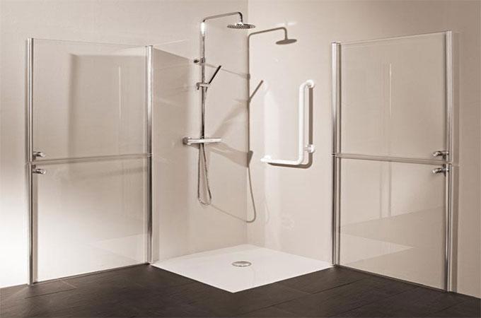 finest douche uagrave luitalienne acrylique with combien coute une douche l italienne. Black Bedroom Furniture Sets. Home Design Ideas