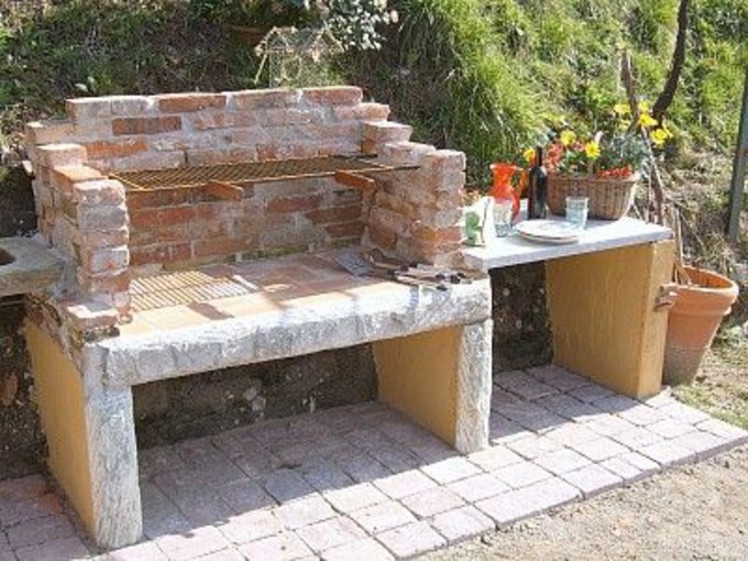 diy outdoor kitchen cinder block. Black Bedroom Furniture Sets. Home Design Ideas