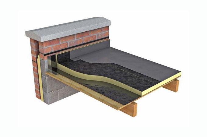 L isolation d un toit terrasse for Cout d un toit terrasse