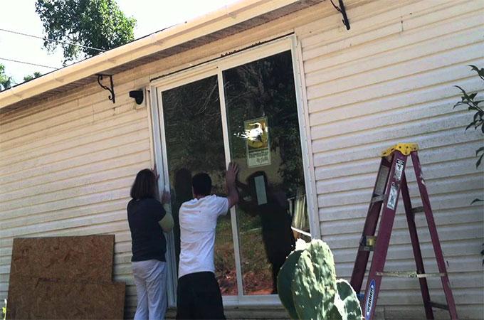 Tarifs d installation d une baie vitr e coulissante for Installer une baie coulissante