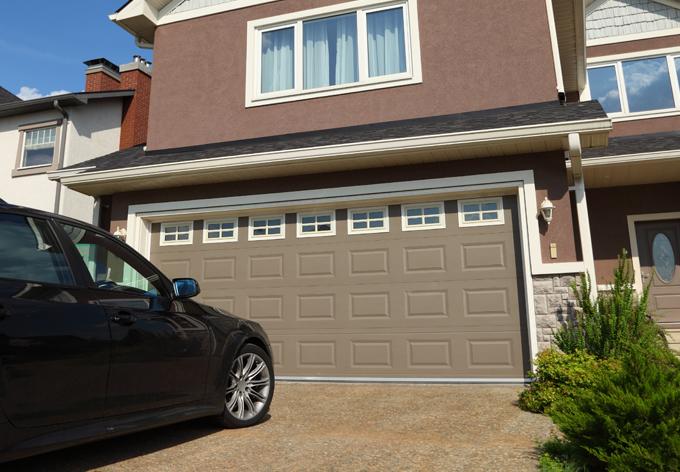 motoriser une porte de garage. Black Bedroom Furniture Sets. Home Design Ideas