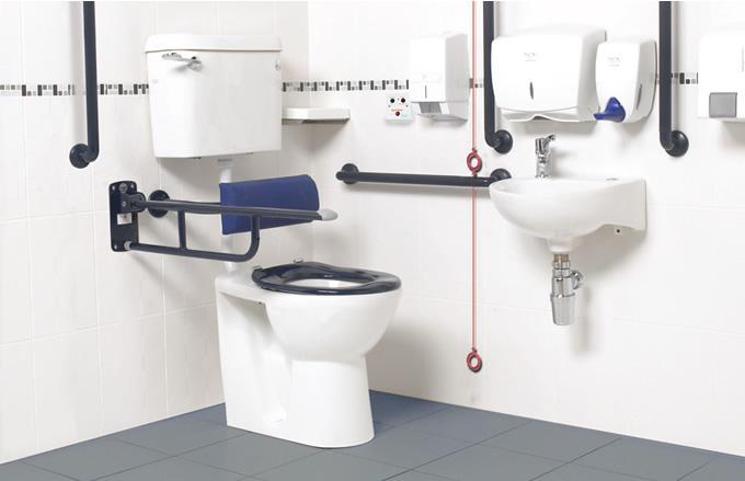 Installations sanitaires pour personnes handicap es les - Cabine de douche pour personne a mobilite reduite ...