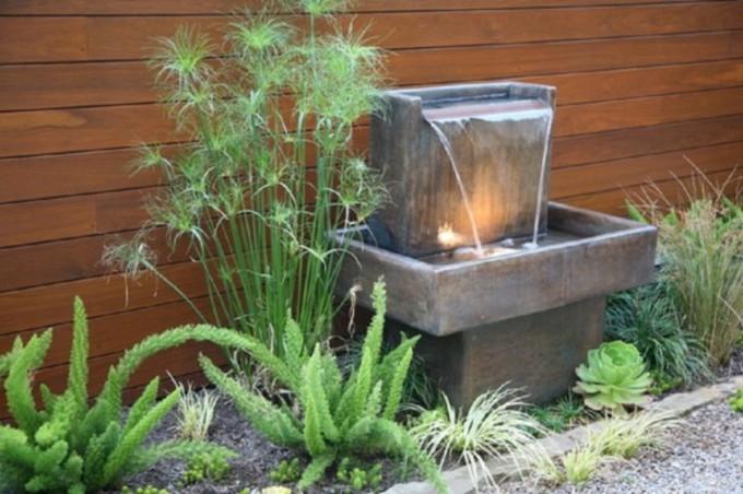 astuces et conseils pour l installation d une fontaine de jardin. Black Bedroom Furniture Sets. Home Design Ideas