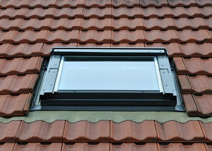 Fenêtre de toit.