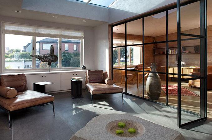 comment faire une verriere interieure voici le rsultat je galere toujours autant avec les. Black Bedroom Furniture Sets. Home Design Ideas