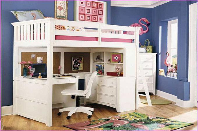 Tout connaitre sur le lit mezzanine avec bureau - Bureau sous lit mezzanine ...