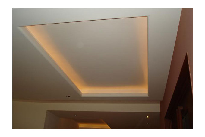 Faire un faux plafond avec spot great faux with faire un for Faire un plafond