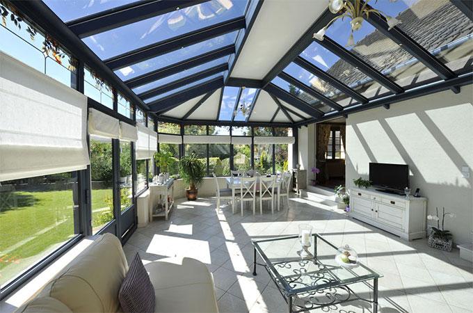 V randa la bonne toiture choisir - Toiture pour veranda en polycarbonate ...