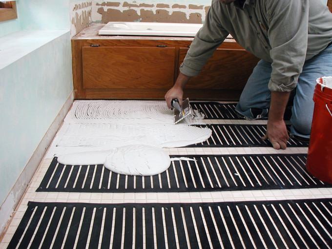 tout ce que vous devez savoir sur le plancher chauffant. Black Bedroom Furniture Sets. Home Design Ideas