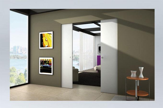 comment faire poser des portes coulissantes à galandage ?