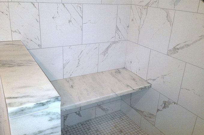 quel est le prix d une douche en marbre. Black Bedroom Furniture Sets. Home Design Ideas